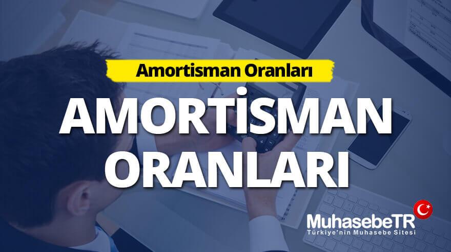 Amortisman Oranlarý 2017-2018