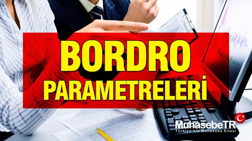 Bordro Parametreleri 2019 (1. Dönem) GÜNCEL