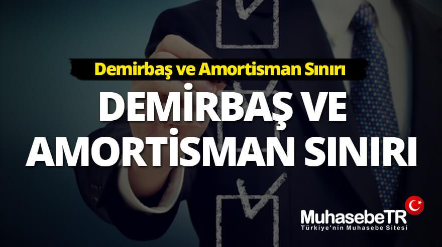 2021 Demirbaþ ve Amortisman Sýnýrý