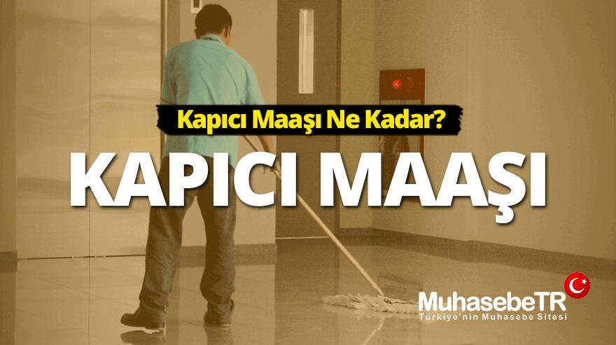 Kapýcý Maaþý 2019 - Kapýcý Maaþý Ne Kadar?