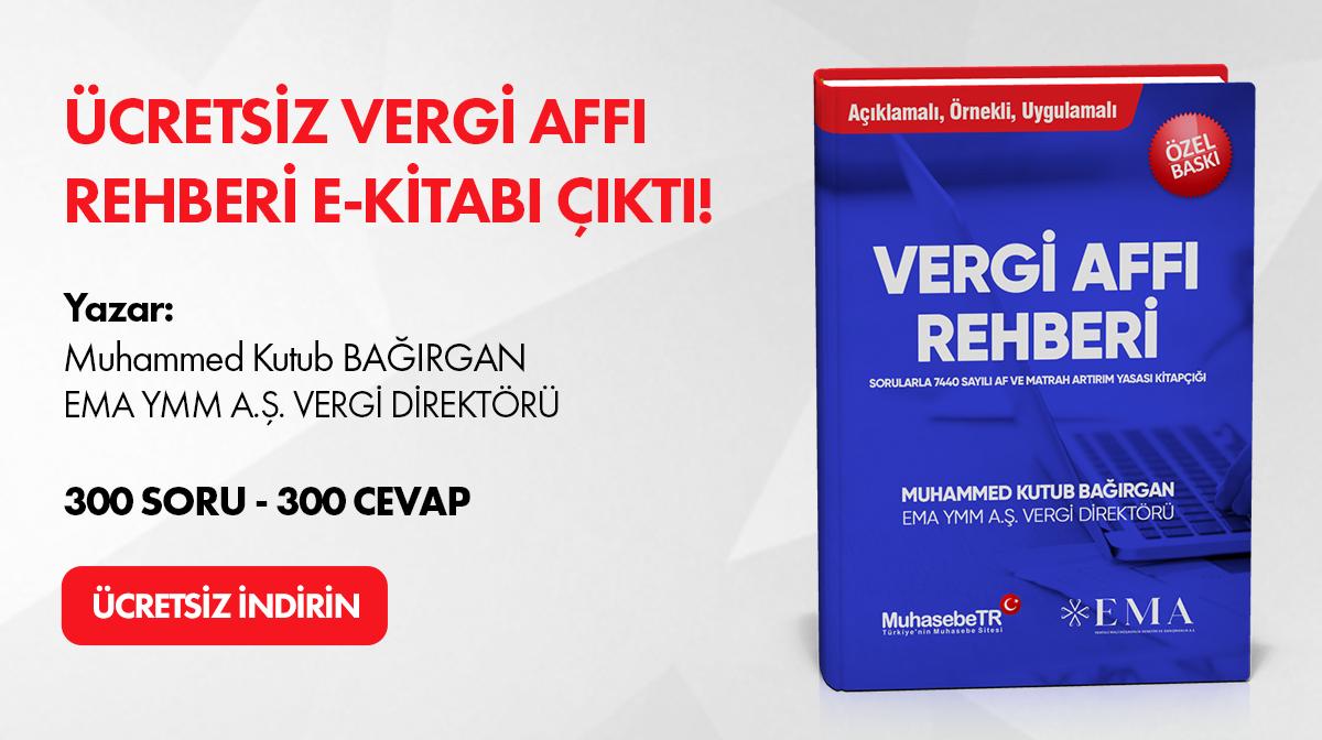 Vergi Affý - Kitabý